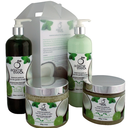 Adam and eve pedicure products for Adam and eve salon