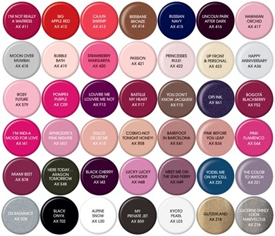 Opi Gelcolor Individual Colours